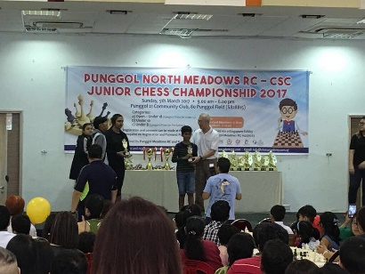 Inaugural Punggol North Junior Chess Championship 2017