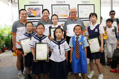 "Noelle Ho took part in the ""My Sengkang Hospital and the Community"" Art Competition and received 3rd Prize"