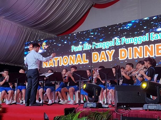 Outdoor Performance for Pasir Ris-Punggol & Punggol East National Day Dinner
