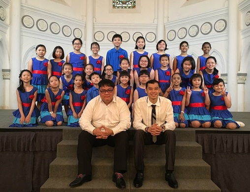 We performed at the beautiful chapel in CHJIMES for Voices of Singapore 2017.