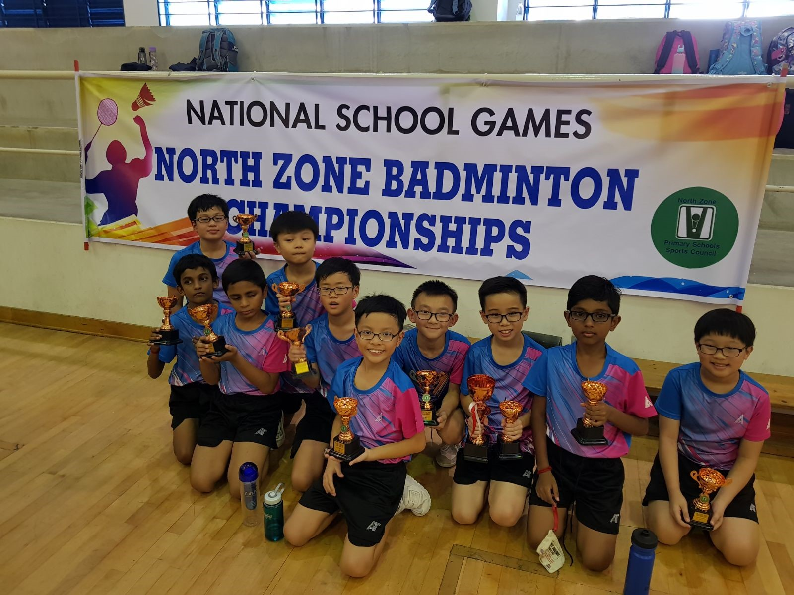 North Zone Primary Schools Badminton Championship 2018 - Participants