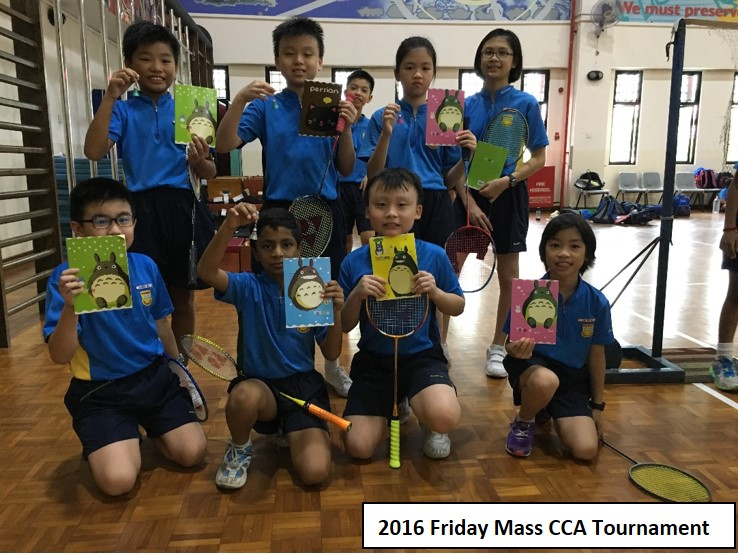 2016 Friday Mass CCA Tournament