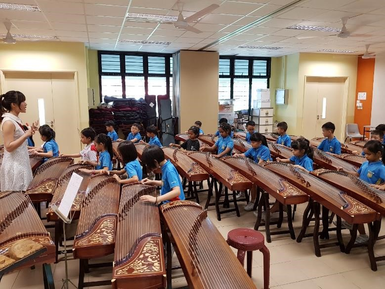 P2 Guzheng Lessons - Photo 01