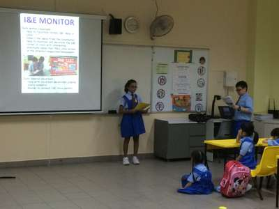 Training of P1 Core Monitors by EXCO Prefects