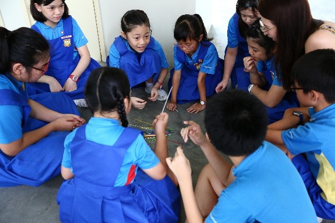 Students playing the various traditional games within their CCAs - 02