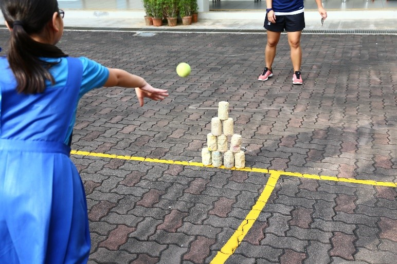 Students playing the various traditional games within their CCAs - 03