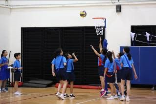 Students participating in various Inter-House Sports - 02