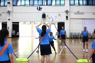 Students participating in various Inter-House Sports - 04